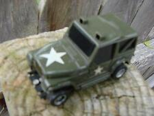 TYCO SLOT CAR US ARMY JEEP TRUCK TRUCKING TRUCKIN USA VINTAGE TOY