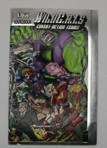 WildCATs Covert Action Teams Sourcebook #1 Silver Embossed Cover