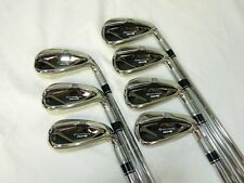 TaylorMade M4 Iron set 4-PW Steel KBS Max 85 Stiff flex Irons Used RH m 4
