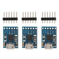 3x CP2102 Module Micro USB 2.0 to TTL 6 PIN Serial Converter UART STC RS232
