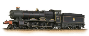 BACHMANN 32-002A  HALL CLASS 4970 'STANWAY HALL' BR EE BLACK LINED WEATHERED