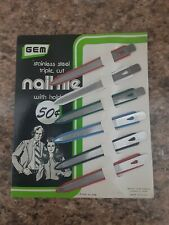 Rare vintage store display nail files, very cool