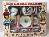 Vintage Toys-R-Us Toy China Tea Set 16pcs (Lash/Tamaron, Made in Japan)