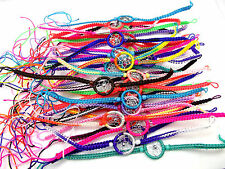 2X Dreamcatcher Friendship Colourful Bracelets Handmade In Peru