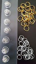 Hair Rings Clips Accessories for Braids Cornrow Crochet Dreadlock