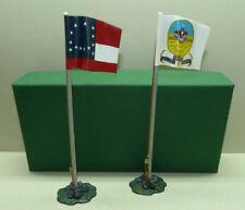 Frontline Figures,2 Flaggen Amerikanischer Bürgerkrieg,Civil War 1/32, ACA3