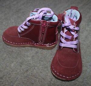 Livie & Luca Girls Plum Barnum Boots Shoes - Size 6 - NEW NO BOX