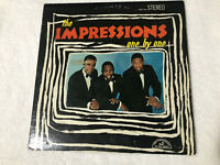 LP THE IMPRESSIONS One By One ABC-PARAMOUNT