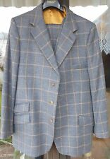 Bookster bespoke Anzug Suit Tweed hand made in England size 46L (Europe 110)