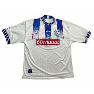 🔥Vintage 1996/98 Karlsruher (KSC) Home Football Shirt Original - XL🔥