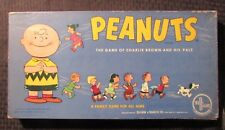 1959 PEANUTS Selright Board Game COMLETE Charlie Brown & His Pals FN/GD+ Snoopy