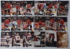 1991-92 Pro Set Series 1 Chicago Blackhawks Team Set of 18 Hockey Cards