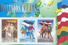 Stamp of LITHUANIA 1999 - 10 years Baltic Chain
