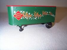 Lionel 6-39477 39477 Reindeer Express Piggy Back Trailer Van like 6424 3460 NOS!