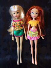 Winx Club Dolls - Frutty, Frutti Music Bar Stella And Bloom (Witty)