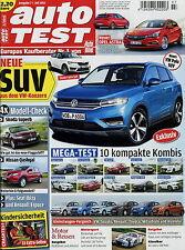 Auto Test 2015 7/15 Nissan Qashqai Seat Leon Twingo Espace Polo Skoda Superb