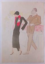 """Marcel Vertès lithographie original """"danse"""" signée numérotée"""