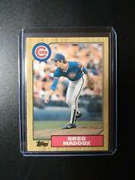 1987 Topps Traded Greg Maddux Chicago Cubs #70T Rookie Rc