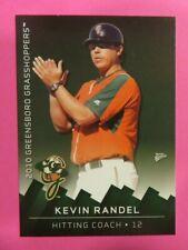 2010 MultiAd Sports, Greensboro Grasshoppers, Hitting Coach - KEVIN RANDEL