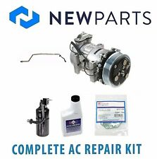 Jeep Cherokee 4.0L 1997 Complete A/C Repair Kit OEM Sanden Compressor & Clutch