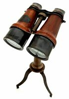Sailor Boat Binocular Telescope with Stand Nautical Spyglass Desk Décor Vintage.