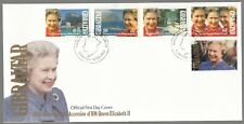 Gibraltar 1992 FDC 40th Anniversary Of The Accession Of Queen Elizabeth II