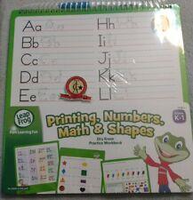 Leapfrog Dry Erase Practice Workbook - printing, numbers, math & shapes