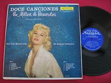 DOCE CANCIONES - UN MILLON DE RECUERDOS - MARVELA LP 55 - RARE SEXY LATIN LP NM