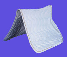 NEW SADDLE PAD CLOTH BLANKET WHITE COLOR SPW4