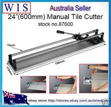 """24""""(600mm)Manual Tile Cutter Cutting Machine Cuts 15mm Thickness Ceramic-87600"""
