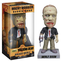 FUNKO AMC WALKING DEAD ZOMBIE MERLE DIXON WACKY WOBBLER BOBBLE HEAD BRAND NEW