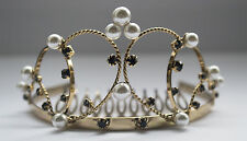 Beautiful Gold  Luxury Wedding Bridal Party/Pageant Prom Tiara Crown UK 050
