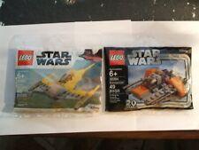LEGO,  STAR WARS ,    LEGO  POLY BAG   (  STAR WARS    2 BAGS )  WOW!!