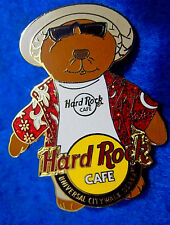 UNIVERSAL OSAKA JAPAN VACATION TOURIST HERRINGTON CITY BEAR Hard Rock Cafe PIN