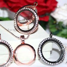 Markenlose Modeschmuck-Halsketten & -Anhänger aus Glas und Legierung für Damen