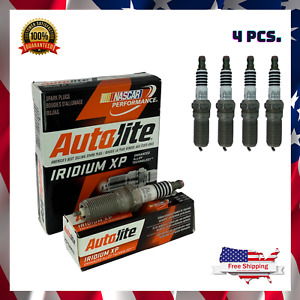 4pcs IRIDIUM SPARK PLUGS For Chevrolet Cadillac Buick Ford GMC Lincoln XP5863