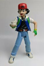 "HASBRO ThinkChip Ash Ketchum 11.5"" Pokemon Trainer Action Figure Nintendo"