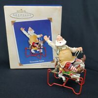 Toymaker Santa 2003 Hallmark Christmas Keepsake Ornament
