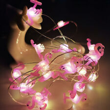2M LED String Light Flamingo Pineapple Fairy Lights Bedroom Birthday Party Decor