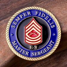 Marine Master Sergeant E8 Coin