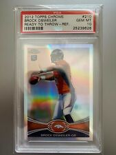 Brock Osweiler 2012 Topps Chrome Refractor Rookie RC PSA 10 - Broncos Arizona St
