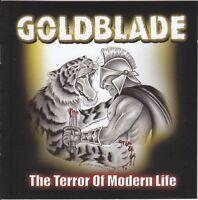 GOLDBLADE - THE TERROR OF MODERN LIFE  CD NEW!