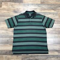 Adidas Polo Shirt Mens Large ClimaLite ClimaCool Short Sleeve Lightweight Golf