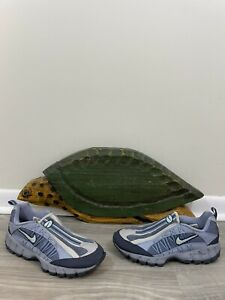 RARE Colorways Womens 2000 Nike Air HUMARA SLIP ON Blue Grey 198000 401 Size 10
