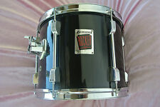 """ADD this Ludwig 12"""" ROCKER BLACK RACK TOM to YOUR DRUM SET TODAY! LOT #T934"""