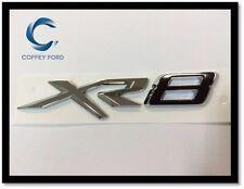 """Genuine Ford Falcon FGX Sprint """"XR8"""" Badge. Rear Bootlid. Silver / Black. AU/BA"""