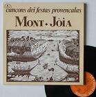 """Vinyle 33T Mont-Joia """"Cançons dei festas provençalas"""""""