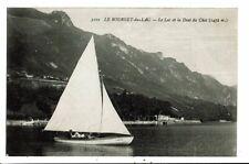 CPA-Carte Postale-FRANCE -Le Bourget du Lac- -Le Lac et la Dent du Chat  en 1918