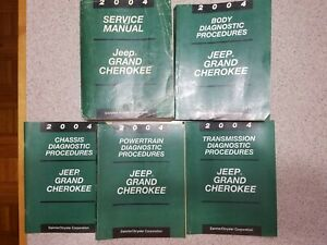 Repair Manuals Literature For 2004 Jeep Grand Cherokee For Sale Ebay