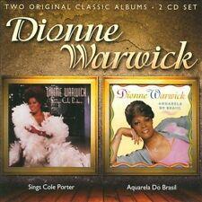 DIONNE WARWICK - SINGS COLE PORTER/AQUARELA DO BRASIL USED - VERY GOOD CD